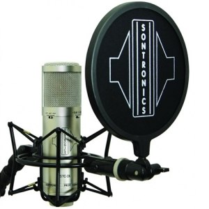 Sontronics STC-3X Pack, Silver Includes; STC-20 Microphone, Pop, Cable and Carry Bag