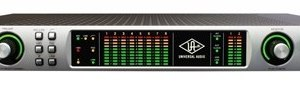 Universal Audio Apollo QUAD Firewire High-Resolution Interface with Real Time UAD Processing