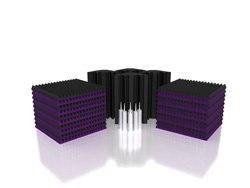 Universal Acoustics Solar System Mercury 3 Acoustic Treatment Kit Purple Charcoal