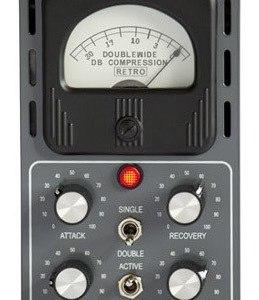 Retro Instruments Doublewide 500-Series Mono Tube Compressor