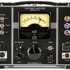 Retro Instruments OP-6 Portable Tube Microphone Preamp