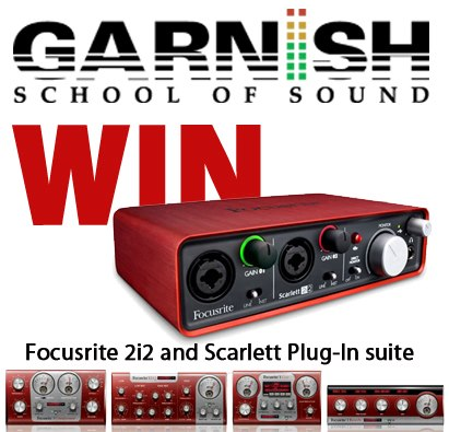 Focusrite Scarlett 2i2 available from Kazbar Systems