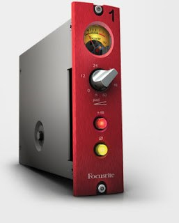Focusrite Red 1 500 Series Preamp available from Kazbar Systems