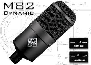 Telefunken M82 Microphone available from Kazbar Systems