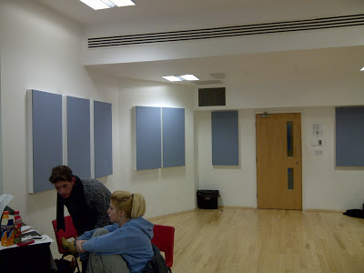Sylvia Young Live Room & Rehearsal Room Design and Installation from Kazbar Systems