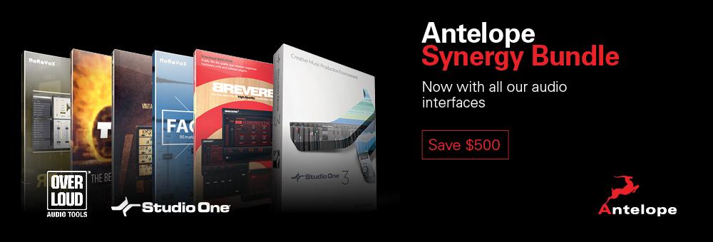 Antelope Audio Interface Synergy Bundle inc Overloud effects