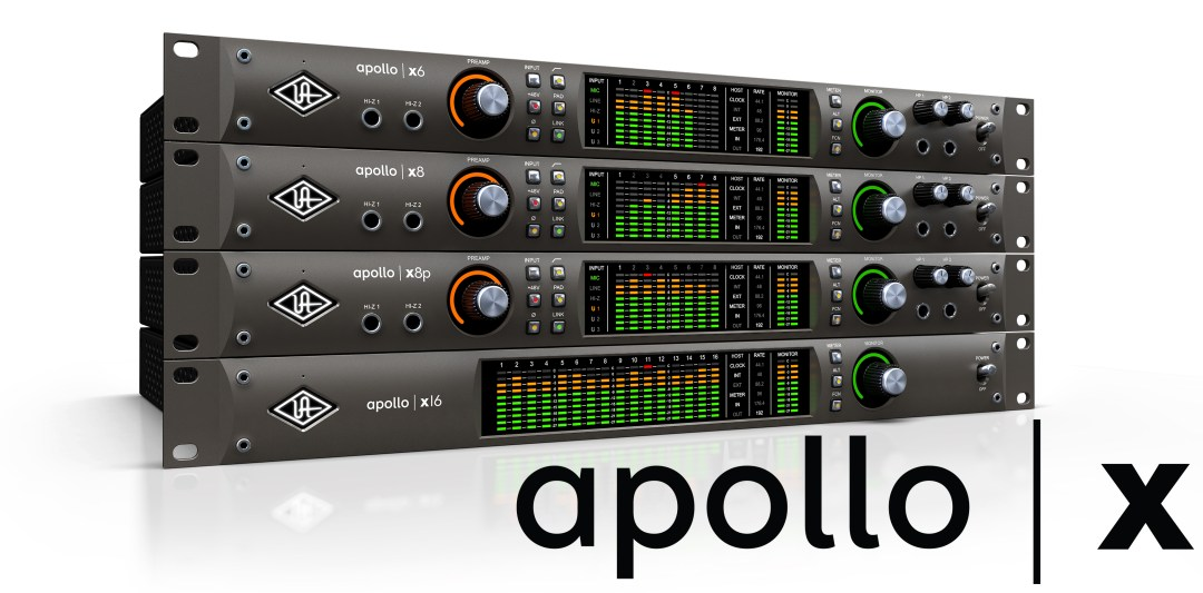 Universal Audio Apollo X Audio Interfaces available from Kazbar Systems