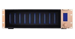 Bento 10 – 10 Slot, rack mountable 500 series power supply available from Kazbar Systems