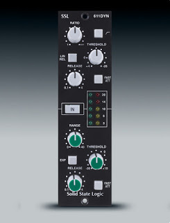 SSL 611 500 Series Dynamics Module available from Kazbar Systems
