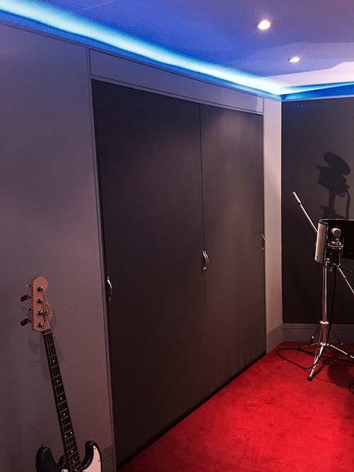 James Reynolds Studio Acoustic Panels from Kazbar Systems