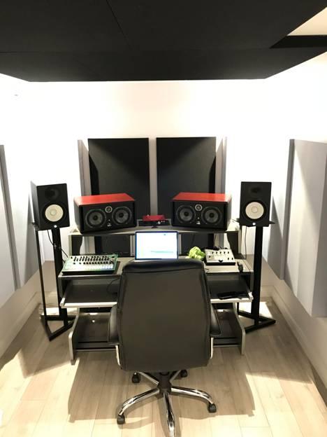 Luke McDrmott Disciples Studio Installation