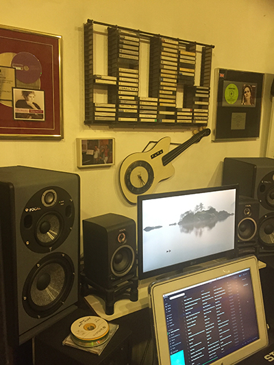 Pete Glenister Purchases Focal Trio 6BE Active Monitor Speaker available from Kazbar Systems