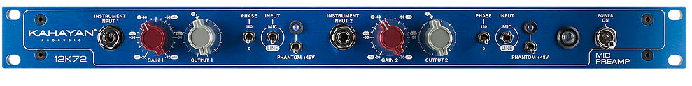 Kahayan 12K72 Preamp available from Kazbar Systems