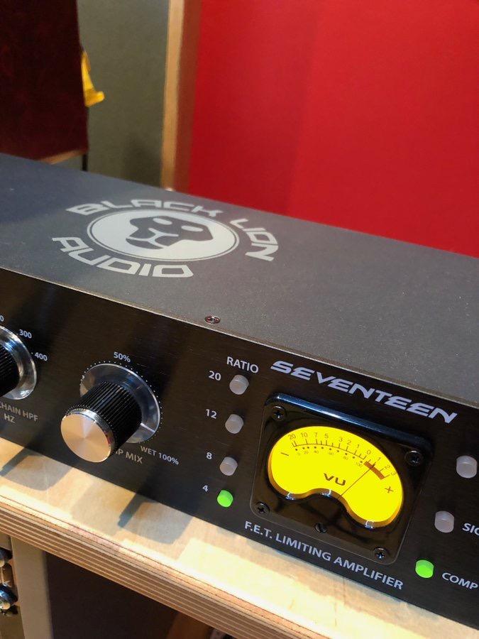 Black Lion Audio Seventeen FET Compressor from Kazbar Systems