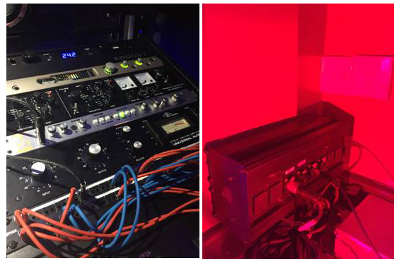 The Plush House Studios Outboard Rack & Vocal Booth Installation by Kazbar Systems