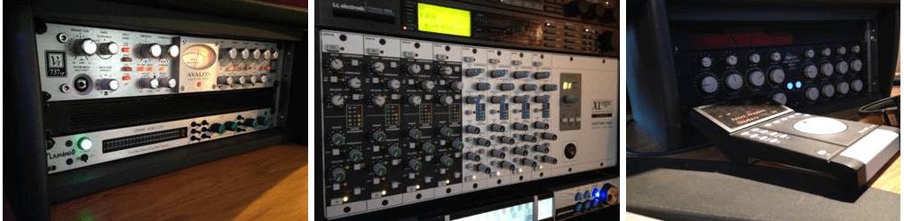 Gospel Oak Studios SSL Rack