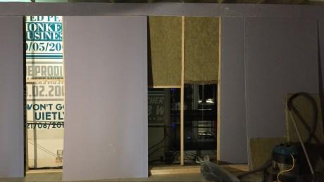 Metropolis Control Room Construction Plasterboard