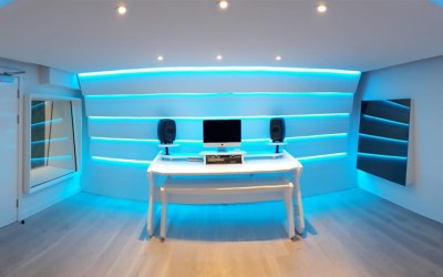 Kamille's new London studio  By Kazbar Systems
