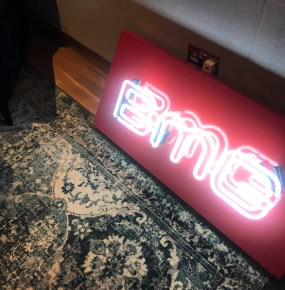 BMG Neon Sign