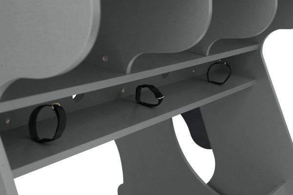 Zaor Miza 88 XLFlex Grey Wengé Cable Tray