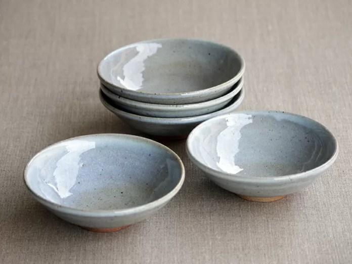 竹白釉 小鉢(5客組)