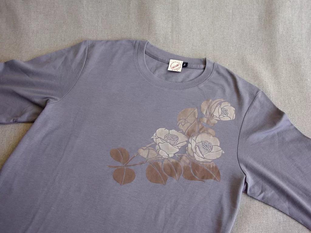 Tシャツ「椿」