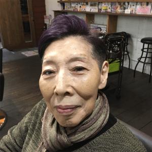 お婆ちゃん髪型白髪染め