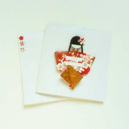 Cartes kokeshi