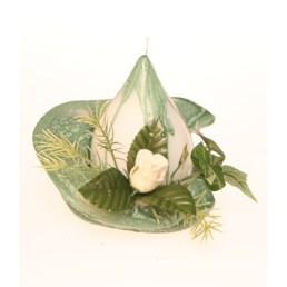 fleur de table kaki