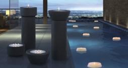 Finca-Stelen-Engels-Kerzen