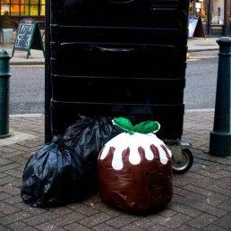 poubelle de Noel
