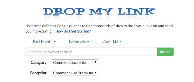 Drop My Link