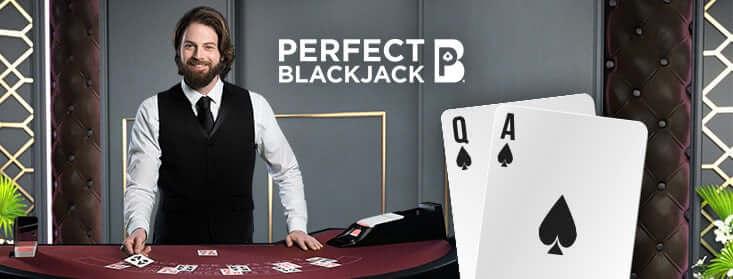 """Spēlē """"NetEnt"""" blekdžeka spēli """"Perfect Blackjack"""""""