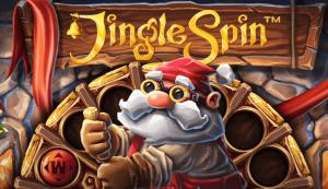 Jingle Spin ziemassvētku spēlē kazino Latvijā