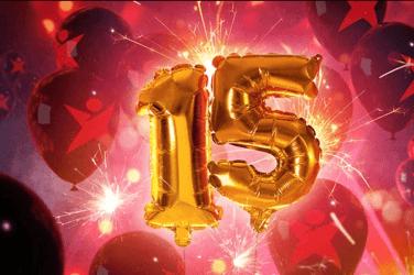 Betsafe kazino 15 gadu jubilejas