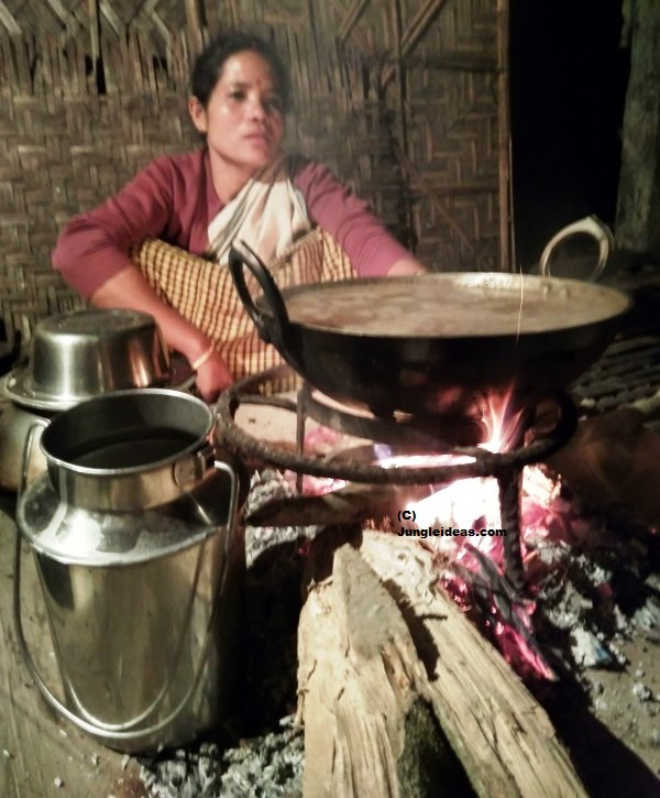 Assamese Cuisine, Tribal cooking, Village cooking, Village Food, Village Recipes, Kaziranga, Assam