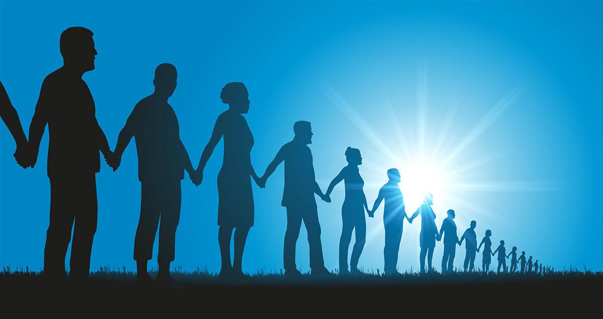 個人と団体の調和を図る。