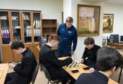 Cостоялось открытие первого турнира по шашкам и шахматам