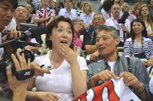 萩野公介両親