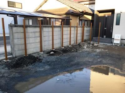 4.藤井邸の施工