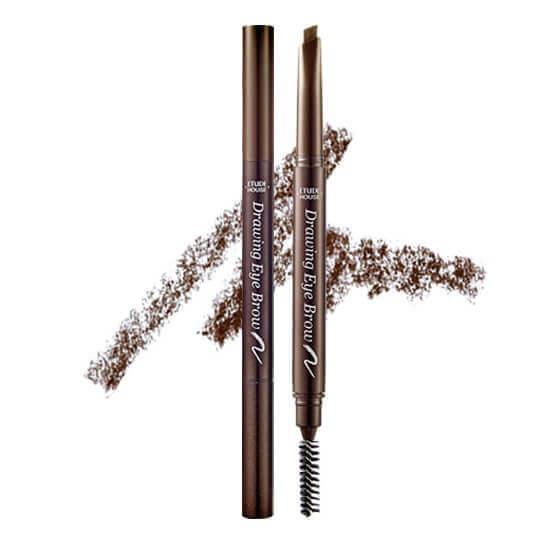 creion sprancene-etude house drawing eyebrow2