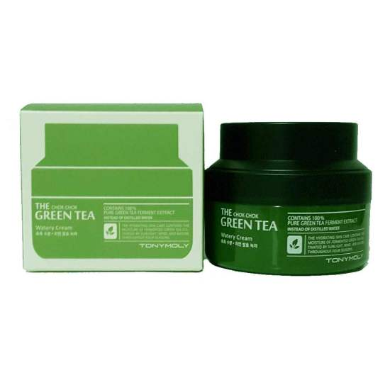 TonyMoly-The-Chok-Chok-Crema hidratantă Green-Tea-Watery-Cream4