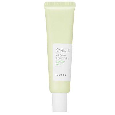 Crema de protecție solară COSRX Shield Fit All Green