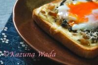 しらすと野沢菜の和風トースト レシピ