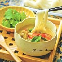 タイ風カレー つけ麺 素麺
