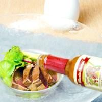 鰹 戻り鰹 スモーク ハバネロソース レシピ