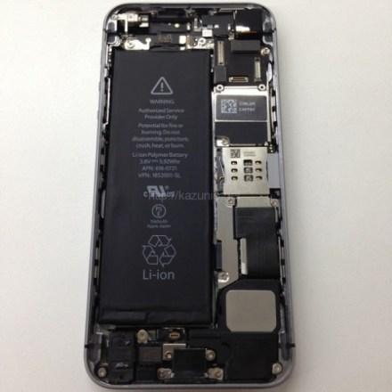 iPhone5c/5s分解 9月20日8:00〜3キャリア同時発売