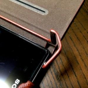 Xperia™ Z1 SO-01F/SOL23 レザー(合皮)ケース