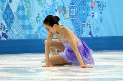 フィギュアスケート女子ショートプログラム浅田真央ちゃん残念すぎるほか今日の #スクラップ #2014 #2/20