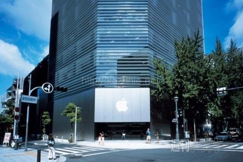 アースデイ(4/22)東京と大阪のApple Storeはリンゴの葉が緑ほか今日の #スクラップ #2014 #4/22